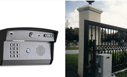 How do we deal with entry phone system installation and repair process?